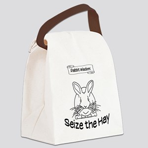 Seize the Hay Canvas Lunch Bag