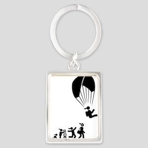 Paragliding-AAI1 Portrait Keychain