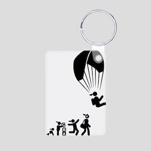 Paragliding-AAI1 Aluminum Photo Keychain