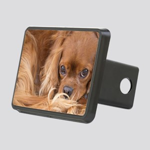 Sweet Friend Ruby Cavalier Rectangular Hitch Cover