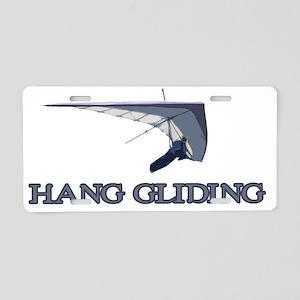 Hang Gliding  Aluminum License Plate