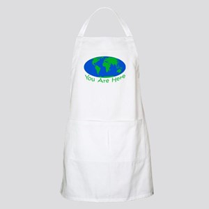 Earth Day You Are Here Apron