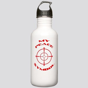 My Peace Symbol Stainless Water Bottle 1.0L