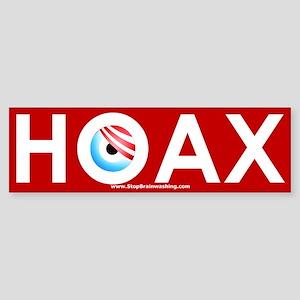 Obama Hoax Sticker (Bumper)