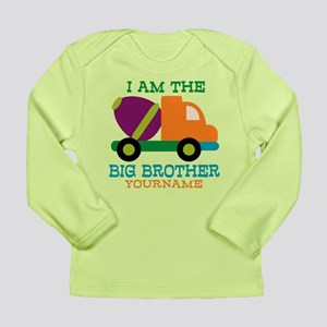 Cement Mixer Big Brother Long Sleeve Infant T-Shir