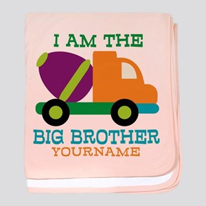 Cement Mixer Big Brother baby blanket