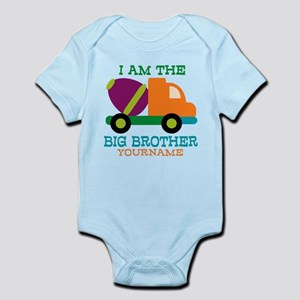 Cement Mixer Big Brother Infant Bodysuit