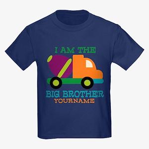 Cement Mixer Big Brother Kids Dark T-Shirt