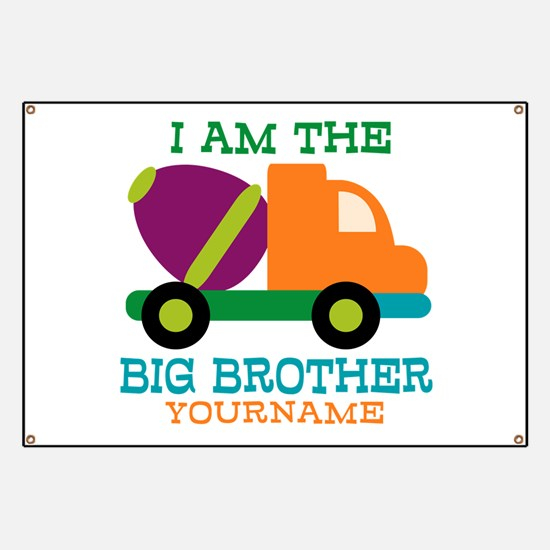 Cement Mixer Big Brother Banner