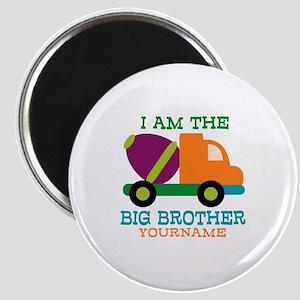 Cement Mixer Big Brother Magnet