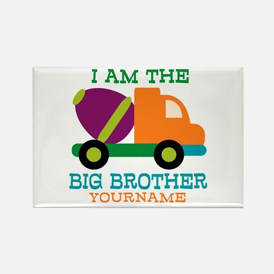 Cement Mixer Big Brother Rectangle Magnet