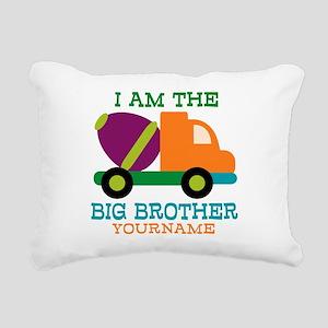 Cement Mixer Big Brother Rectangular Canvas Pillow