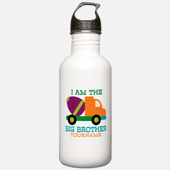Cement Mixer Big Brother Water Bottle