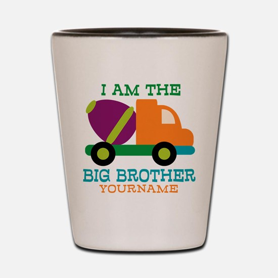 Cement Mixer Big Brother Shot Glass