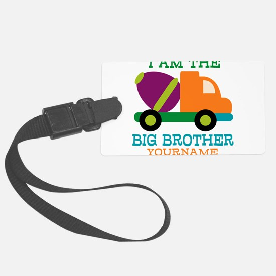 Cement Mixer Big Brother Luggage Tag