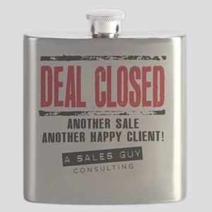 Deal Closed Flask