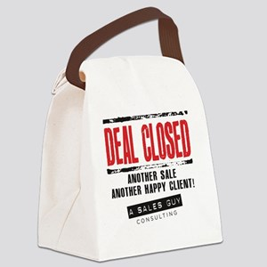 Deal Closed Canvas Lunch Bag