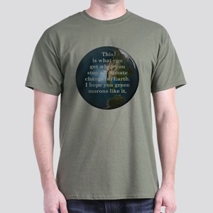 Climate Change - Dark T-Shirt