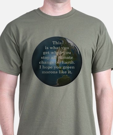 Climate Change - T-Shirt