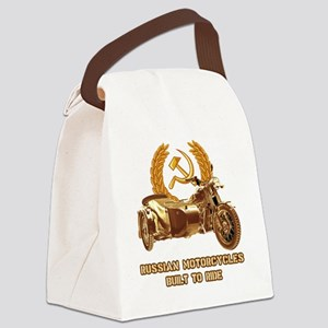 Russian motorcycles built to ride Canvas Lunch Bag