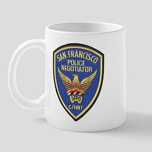 SFPD Negotiator Mug