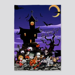 Kids Halloweening 5'x7'Area Rug