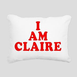 I-Am-Claire Rectangular Canvas Pillow