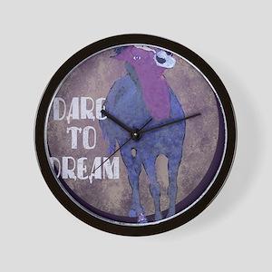 Dare to Dream Unicorn Wall Clock