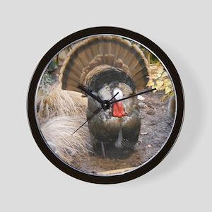 Eastern Wild Turkey Wall Clock