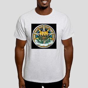 Imbolc Sabbat Pentacle Light T-Shirt