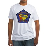 USS L. MENDEL RIVERS Fitted T-Shirt