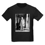 Lee portrait Kids Dark T-Shirt