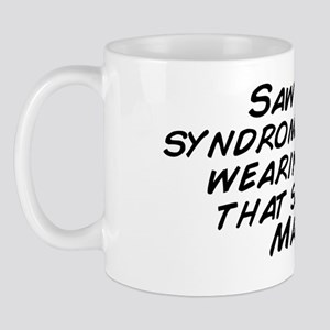 Saw a down syndrome guy today wearing a Mug