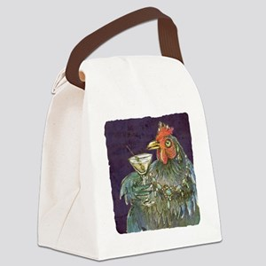 Martinis anyone? Canvas Lunch Bag