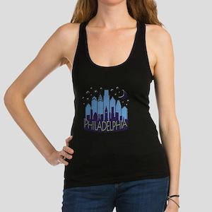 Philly Skyline Mega Cool Racerback Tank Top