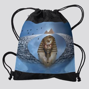 Pharaoh Fantasy Drawstring Bag