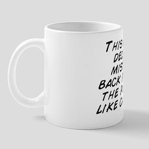 This Christmas I decided to put mistlet Mug