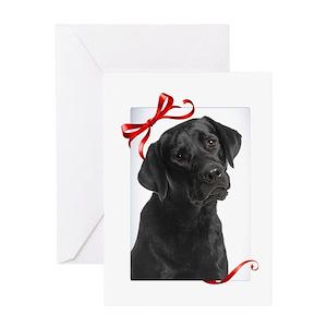 Labrador Retriever Christmas Greeting Cards