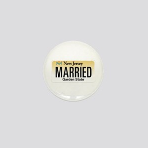 New Jersey Marriage Equality Mini Button
