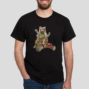 Raccoon Biker Gang Dark T-Shirt