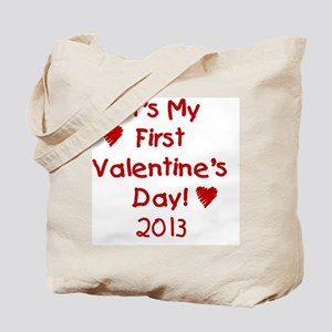 First Valentines Day 2013 Tote Bag