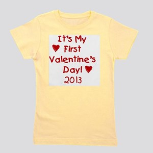 First Valentines Day 2013 Girl's Tee