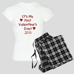 First Valentines Day 2013 Women's Light Pajamas