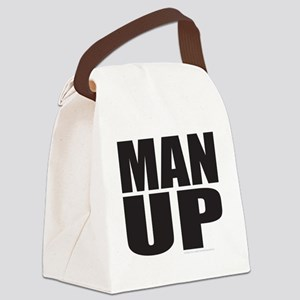 MAN UP T-SHIRTS AND GIFTS Canvas Lunch Bag