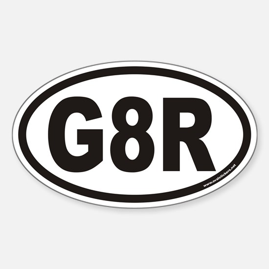 G8R Euro Oval Decal