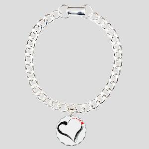I Love Hawaii Charm Bracelet, One Charm