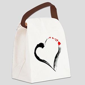 I Love Hawaii Canvas Lunch Bag
