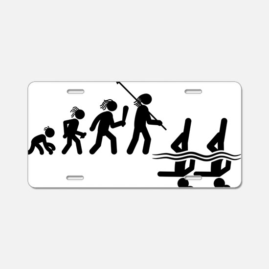 Synchronized-Swimming-AAH1 Aluminum License Plate