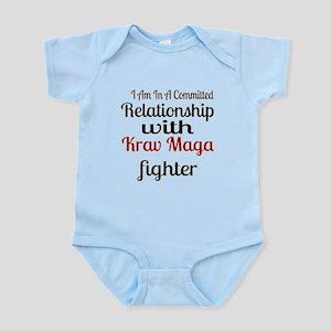 Relationship With Krav Maga Fi Baby Light Bodysuit