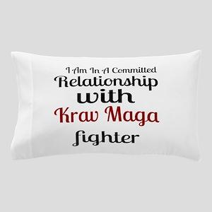 Relationship With Krav Maga Fighter Pillow Case